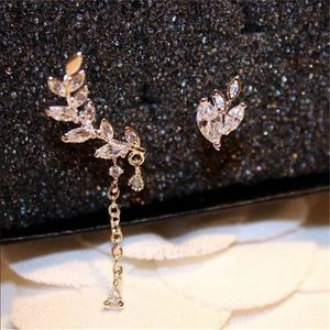 Jewelry - Just in! Trendy ear crawlers +stud clip ons Gold